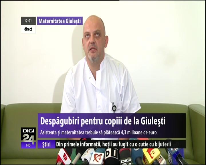 VIDEO | Maternitatea Giulești, în imposibilitate de a plăti despăgubirile în cazul incendiului din 2010