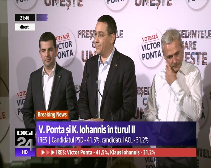 Victor Ponta: Eu vreau sa fiu presedintele oamenilor, nu al lucrurilor